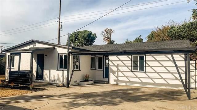 187 E E Washington Ave, El Cajon, CA 92020 (#200008993) :: RE/MAX Masters
