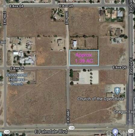 0 Vac/Cor 28th Ste/Ave Q6, Palmdale, CA 93550 (#SR20039632) :: Allison James Estates and Homes