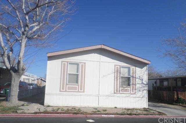 3524 Avenue R #236, Palmdale, CA 93550 (#SR20040151) :: Go Gabby