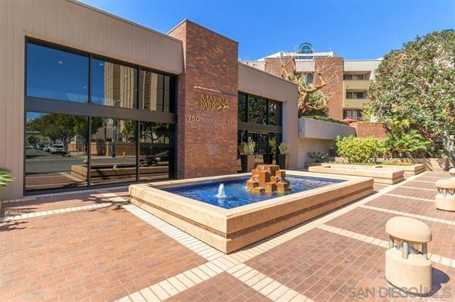 850 State St #312, San Diego, CA 92101 (#200010174) :: Better Living SoCal