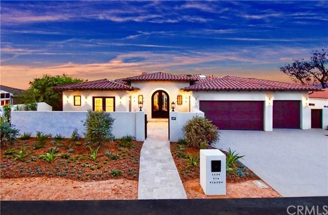 4439 Via Pinzon, Palos Verdes Estates, CA 90274 (#PV20014020) :: The Laffins Real Estate Team