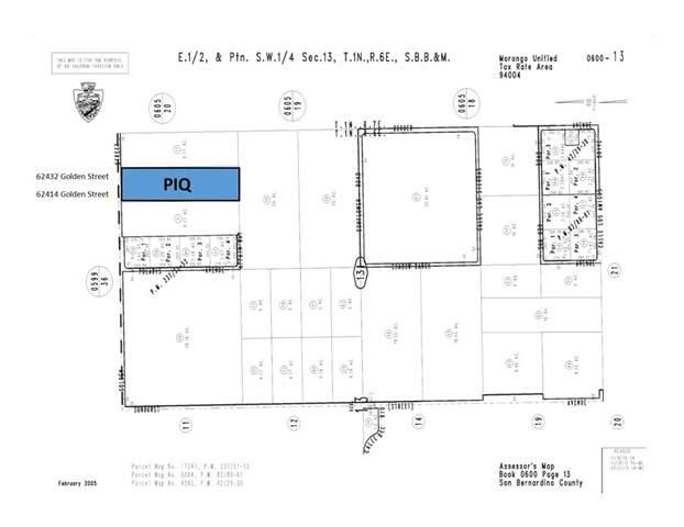 0 Golden Street, Joshua Tree, CA 92252 (#JT20041132) :: Berkshire Hathaway HomeServices California Properties