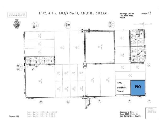 4889 Sunburst Street, Joshua Tree, CA 92252 (#JT20041059) :: The Laffins Real Estate Team