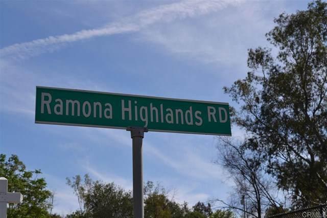 0 Ramona Highlands Rd & Hwy 78 - Photo 1