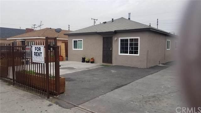 4542 E 53rd Street, Maywood, CA 90270 (#DW20050621) :: Crudo & Associates