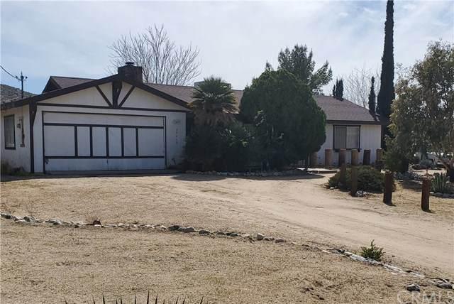 57615 Pueblo Trail, Yucca Valley, CA 92284 (#CV20051049) :: Go Gabby
