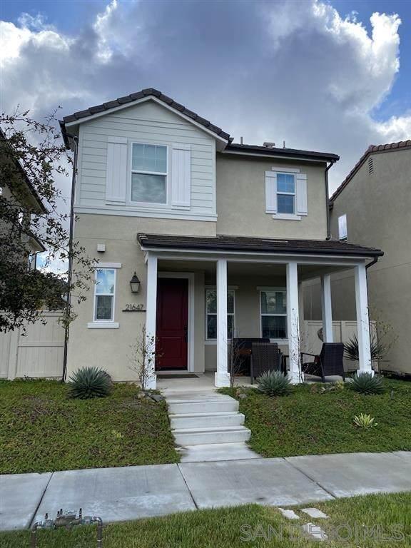 21647 Trail Blazer Ln., Escondido, CA 92029 (#200012523) :: Cal American Realty