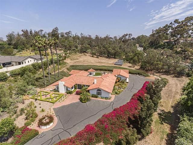 5458 El Cielito, Rancho Santa Fe, CA 92067 (#200012639) :: RE/MAX Masters
