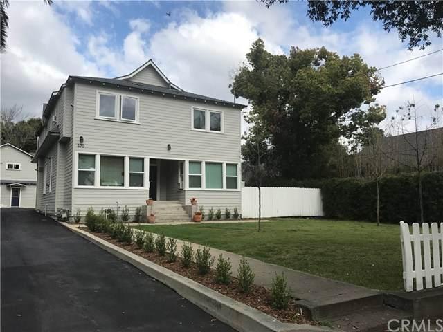 466 Cypress Avenue, Pasadena, CA 91103 (#AR20057214) :: The Brad Korb Real Estate Group