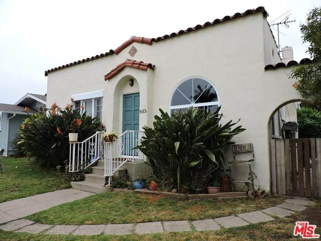 653 Flower Avenue, Venice, CA 90291 (#20564714) :: Steele Canyon Realty