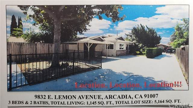 9832 E Lemon Avenue, Arcadia, CA 91007 (#AR20061629) :: Crudo & Associates