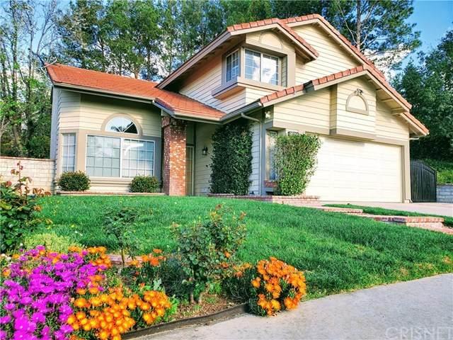 28314 Tamarack Lane, Saugus, CA 91390 (#SR20063406) :: Compass