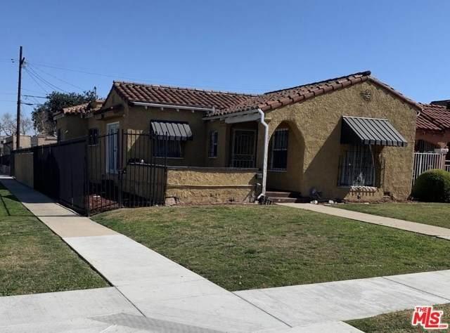 7600 S Halldale Avenue, Los Angeles (City), CA 90047 (#20566982) :: Case Realty Group