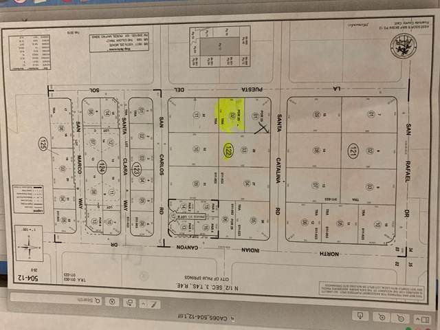 0 Del Sol Road, Palm Springs, CA 92262 (#219041285DA) :: A|G Amaya Group Real Estate
