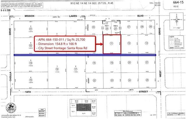 0 Santa Rosa Road, Desert Hot Springs, CA 92240 (#IG20065266) :: Re/Max Top Producers