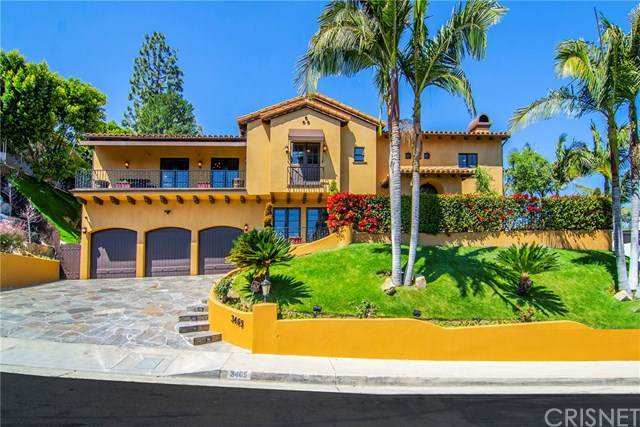 3465 Caribeth Drive, Encino, CA 91436 (#SR20022442) :: Wendy Rich-Soto and Associates