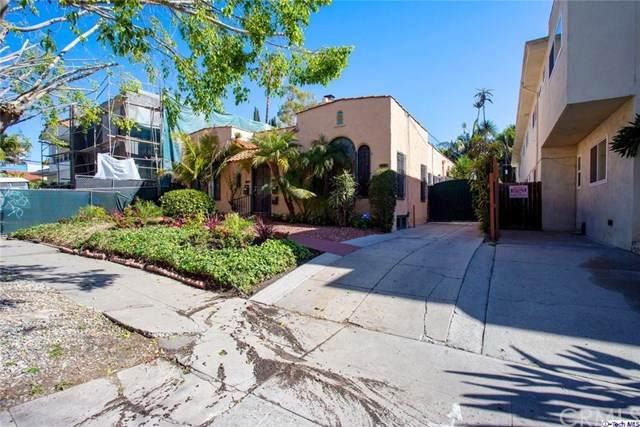 812 N Sycamore Avenue, Los Angeles (City), CA 90038 (#320001181) :: Go Gabby