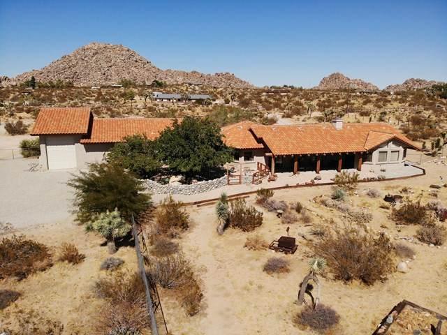 63533 Wagon Wheel Road, Joshua Tree, CA 92252 (#219031380DA) :: Wendy Rich-Soto and Associates