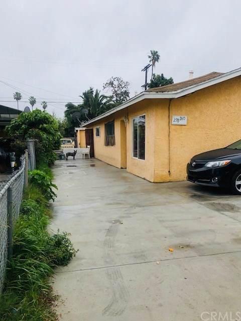 238 E 102nd Street, Los Angeles (City), CA 90003 (#DW20066625) :: Team Tami