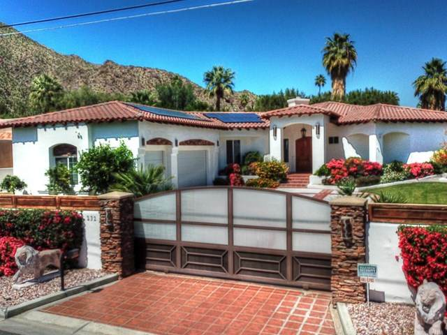 232 Overlook Road, Palm Springs, CA 92264 (#219041494PS) :: Berkshire Hathaway HomeServices California Properties
