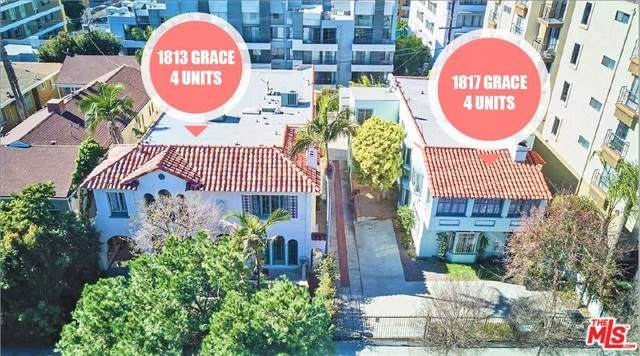 1813 Grace Avenue, Los Angeles (City), CA 90028 (#20568750) :: Berkshire Hathaway HomeServices California Properties