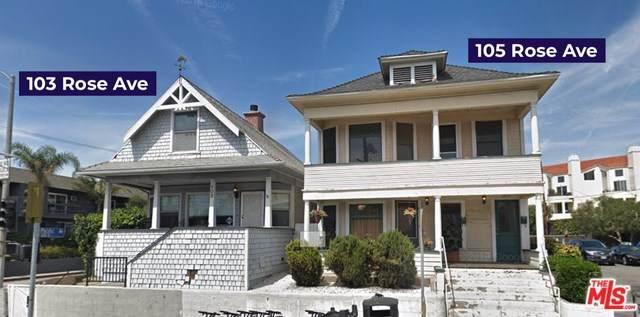 103 Rose Avenue, Venice, CA 90291 (#20567954) :: Berkshire Hathaway HomeServices California Properties