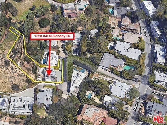 1523-1/2 N Doheny Drive, Los Angeles (City), CA 90069 (#20568078) :: Keller Williams   Angelique Koster