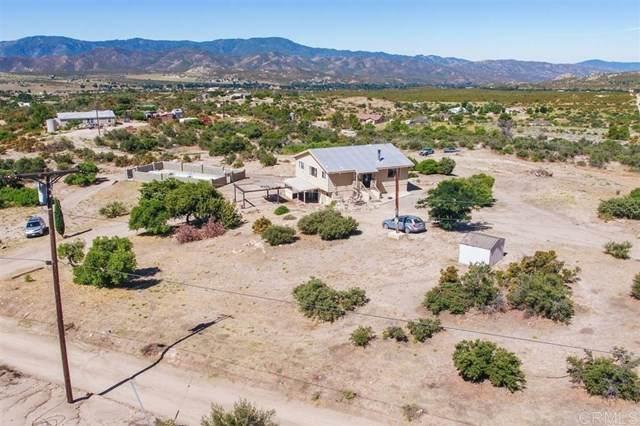 37904 Montezuma Valley, Ranchita, CA 92066 (#200016852) :: Go Gabby