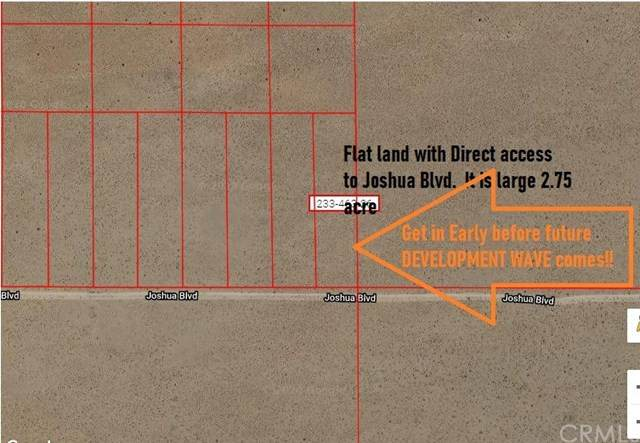 1 Joshua Boulevard, North Edwards, CA  (MLS #TR20080444) :: Desert Area Homes For Sale