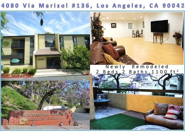 4080 Via Marisol #136, Los Angeles (City), CA 90042 (#ND20083999) :: Brandon Hobbs Group