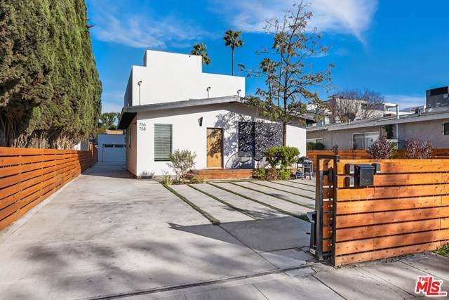 756 N Wilton Place, Los Angeles (City), CA 90038 (#20582078) :: Team Tami