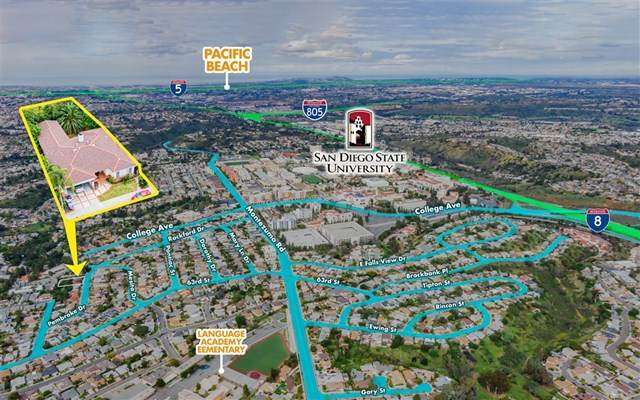 6129 Pembroke, San Diego, CA 92115 (#200023674) :: Coldwell Banker Millennium