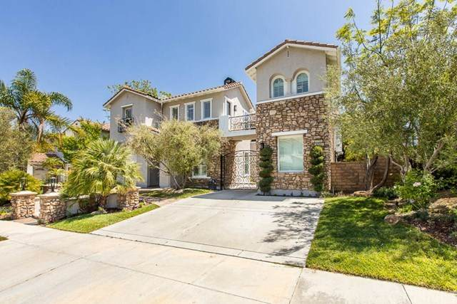 3735 Red Hawk Court, Simi Valley, CA 93063 (#SR20076516) :: Team Tami