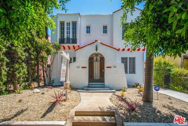 1524 S Burnside Avenue, Los Angeles (City), CA 90019 (#20582398) :: Team Tami