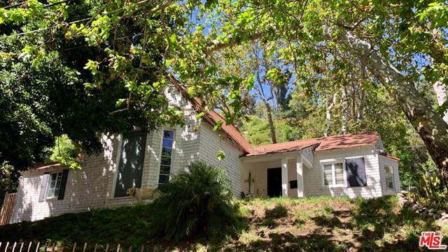 1524 Benedict Canyon Drive, Beverly Hills, CA 90210 (#20582506) :: RE/MAX Masters