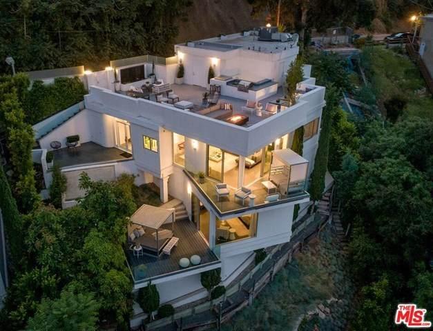 8646 Hollywood, Los Angeles (City), CA 90069 (#20582664) :: The Najar Group