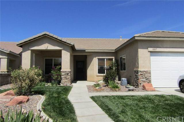 1807 W Avenue H4, Lancaster, CA 93534 (#SR20101245) :: Rogers Realty Group/Berkshire Hathaway HomeServices California Properties