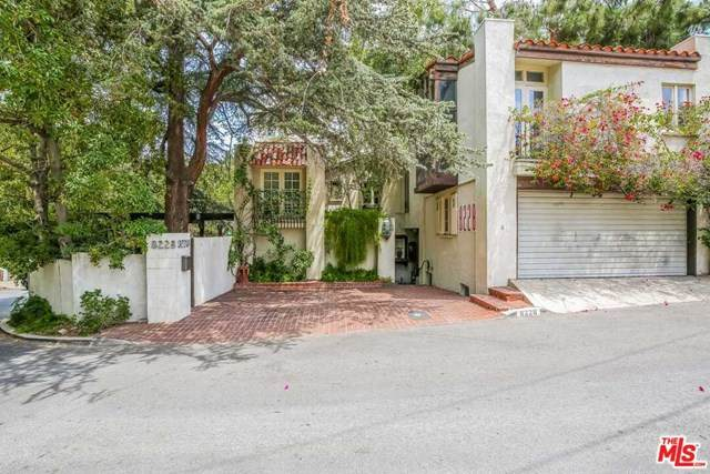 8228 Marmont Lane, Los Angeles (City), CA 90069 (#20580534) :: The Najar Group