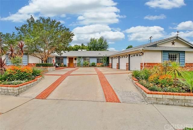 10461 Yolanda Avenue, Porter Ranch, CA 91326 (#SR20102470) :: The Parsons Team