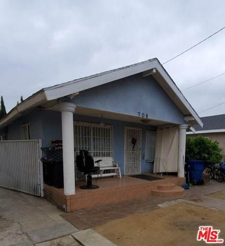 708 W 54TH Street, Los Angeles (City), CA 90037 (#20584246) :: The Miller Group