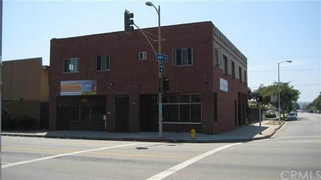 4801 S Normandie Avenue, Los Angeles (City), CA 90037 (#DW20105066) :: RE/MAX Empire Properties