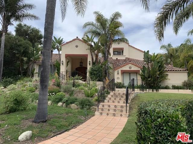 4114 Hidden Oaks Road, Santa Barbara, CA 93105 (#20585880) :: Allison James Estates and Homes