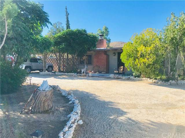 61754 Hilltop Drive, Joshua Tree, CA 92252 (#JT20104930) :: The Laffins Real Estate Team
