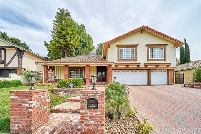 19023 Vista Grande Way, Porter Ranch, CA 91326 (#SR20108857) :: Blake Cory Home Selling Team