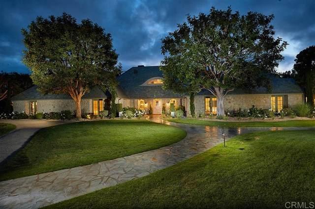 14497 Emerald Ln, Rancho Santa Fe, CA 92067 (#200026029) :: Team Tami