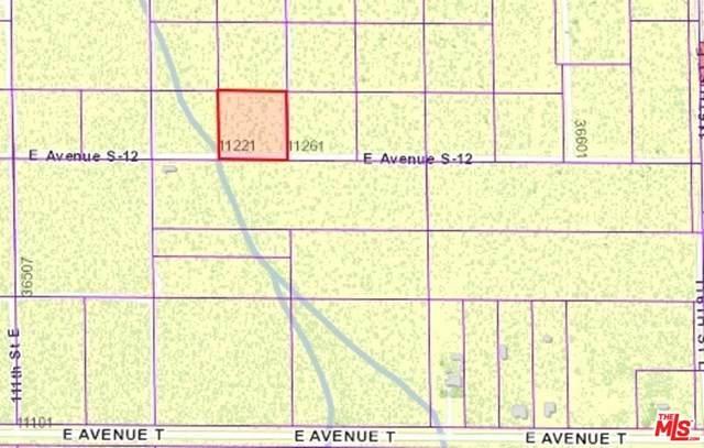 0 Vac/Cor 112Th Ste/Ave S1, Sun Village, CA 93543 (#20589788) :: Allison James Estates and Homes