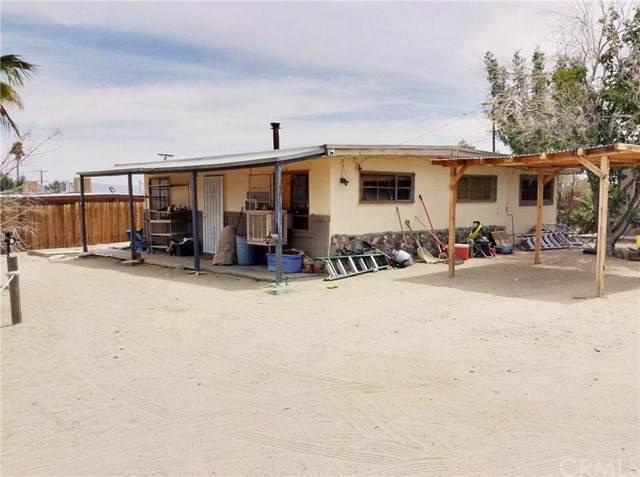 7405 Sherman Hoyt Avenue, 29 Palms, CA 92277 (#JT20114186) :: Crudo & Associates