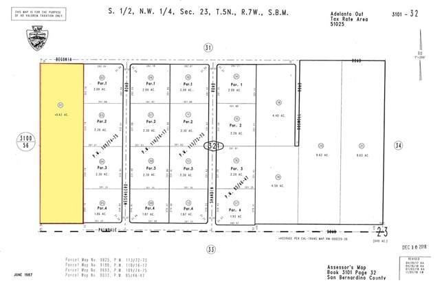 10-AC Palmdale Rd. And Beekley Road, Phelan, CA 92371 (#SR20095003) :: Rogers Realty Group/Berkshire Hathaway HomeServices California Properties