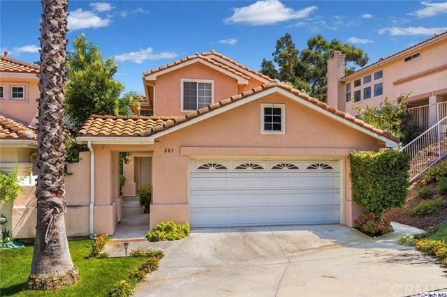 885 Calle La Primavera, Glendale, CA 91208 (#320002148) :: The Brad Korb Real Estate Group