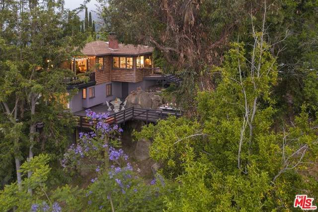 19924 Valley View Drive, Topanga, CA 90290 (#20597714) :: Re/Max Top Producers